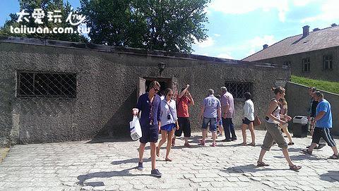 奧斯維辛Oświęcim集中營「淋浴間」