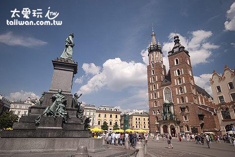 Krakow舊城區
