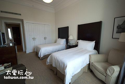 布達佩斯四季飯店Gresham Palace房間