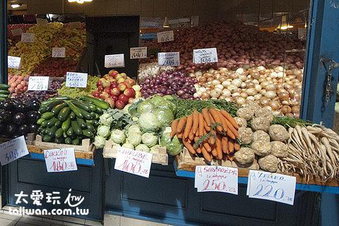Central Market Hall新鮮蔬果