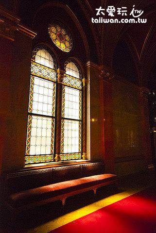國會大廈美麗的窗戶