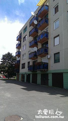 小巧的蘇聯時期公寓
