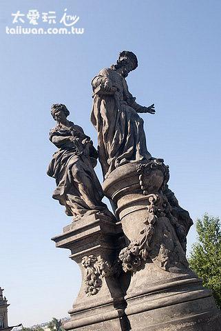 查理橋巴洛克式雕像
