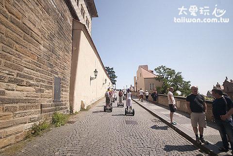 上布拉格城堡的長爬坡