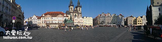 布拉格舊城區廣場