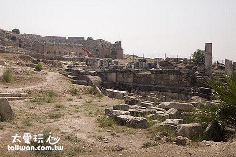 希拉波利斯(Hierapolis)古城遺跡