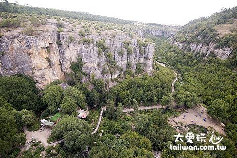 土耳其番紅花城峽谷