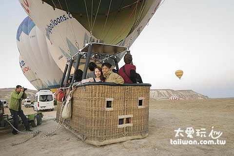 卡帕多奇亞熱氣球必搭
