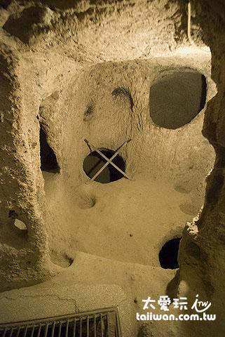 地下城Kaymakli Underground City