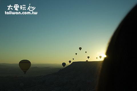 卡帕多奇亞熱氣球