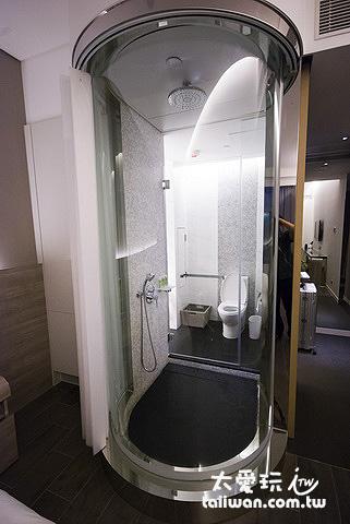 旺角薈賢居淋浴間是乾濕分離