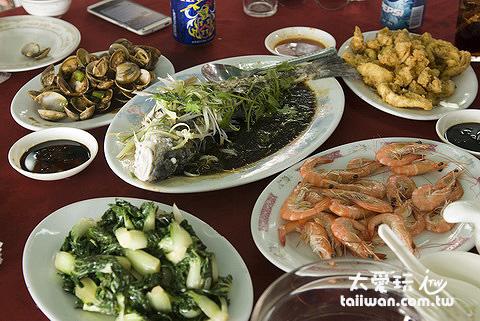 索罟灣吃海鮮