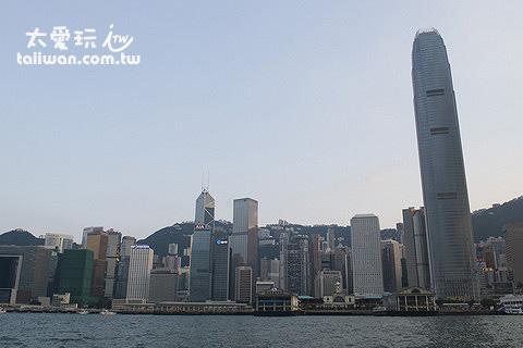 繁榮的香港水泥叢林