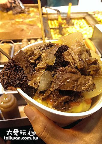 終於吃到屬於香港口味的滷味