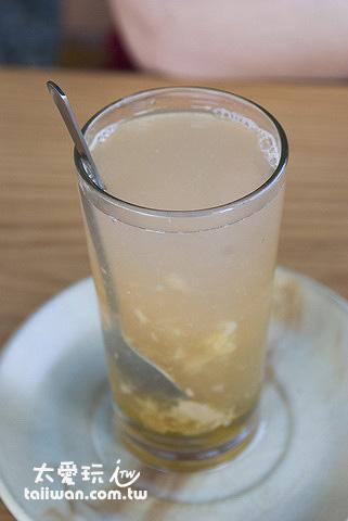 檸檬薑汁蜂蜜茶