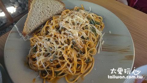素意大利麵超好吃!