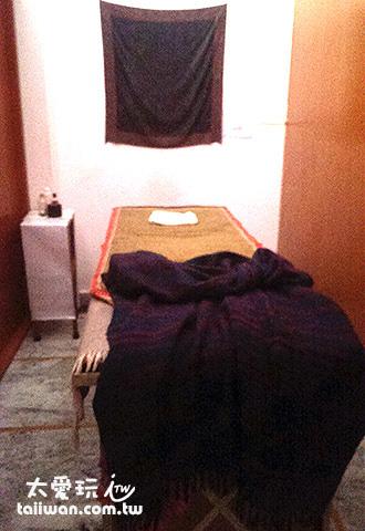 便宜的阿育吠陀按摩中心環境很簡陋