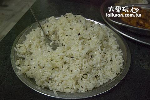 參有香料的米飯
