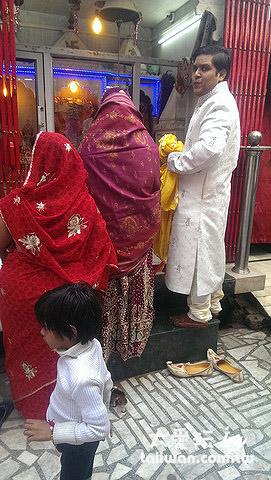巧遇印度婚禮
