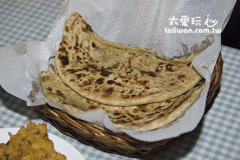 印度薄餅是主食