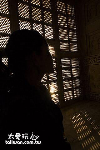 泰姬瑪哈陵內部
