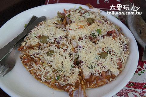 印度式Pizza很有特色