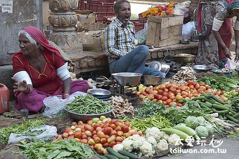 Jaisalmer菜市場