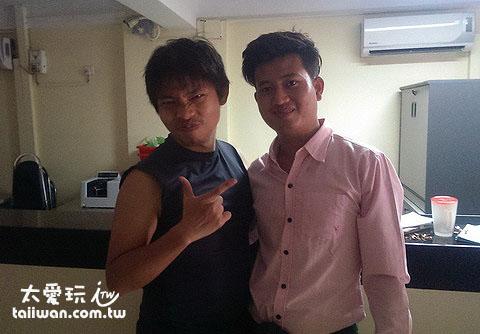 熱情的緬甸朋友