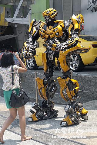 新加坡環球影城-大黃蜂