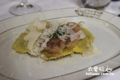 Antica Locanda di Sesto餐廳很特別的Pasta