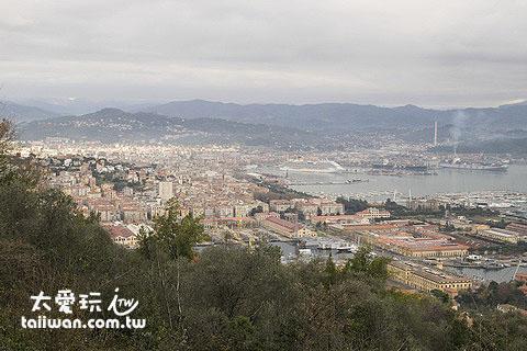 La Spezia拉斯佩齊亞市是一個港口大城