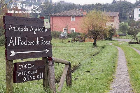 Agriturismo Al Podere Di Rosa莊園民宿
