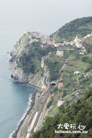 五漁村Cinque Terre山城