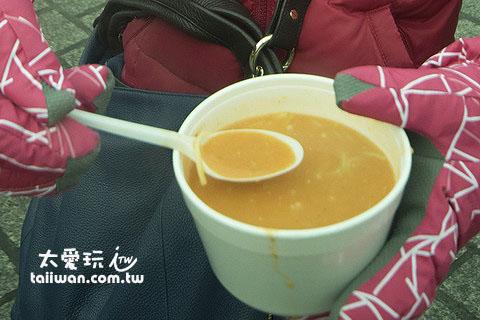 冷到爆炸的天氣來杯熱熱的湯最好