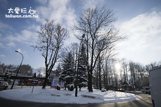 Zakopane雪景