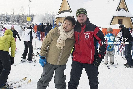 滑雪教練 1小時1對1教學70波蘭幣