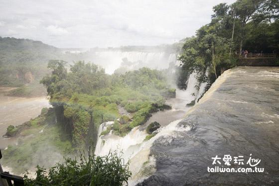 阿根廷邊的伊瓜蘇瀑布