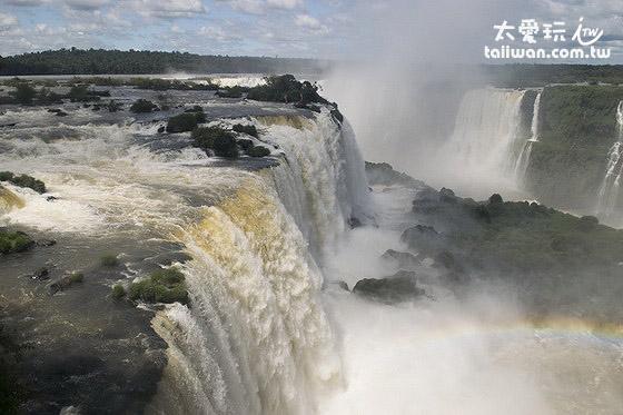 巴西邊的伊瓜蘇瀑布