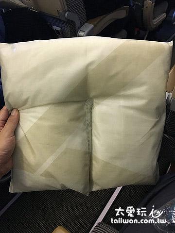 阿提哈德航空的頸枕我很喜歡