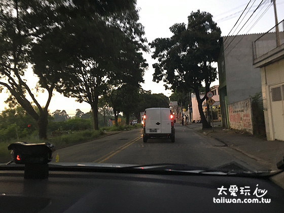 出發前往伊瓜蘇