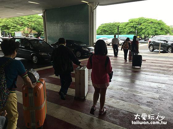伊瓜蘇機場已經有人來接機