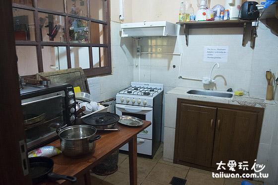 終於有廚房可以用了