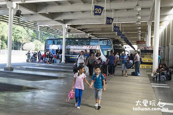 終於抵達Salta薩爾塔巴士站