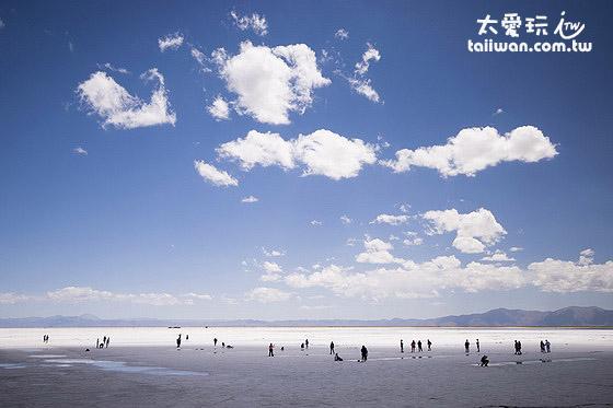 Salinas Grandes鹽湖超級巨大