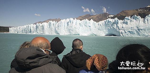 壯觀的Perito Moreno冰河