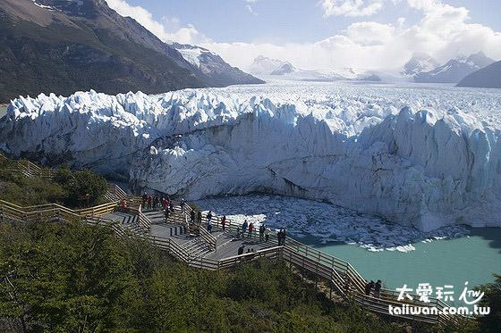 Perito Moreno冰河觀景台