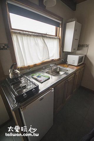 La Posta七人公寓廚房