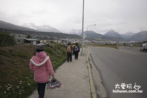 La Posta走路到鎮中心大約半小時