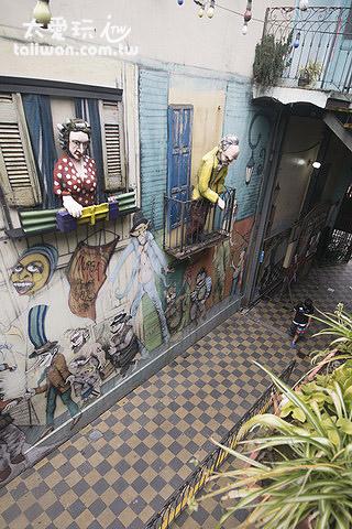 Caminito饒富趣味的小巷