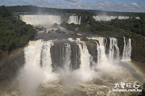 伊瓜蘇瀑布寬度達3公里